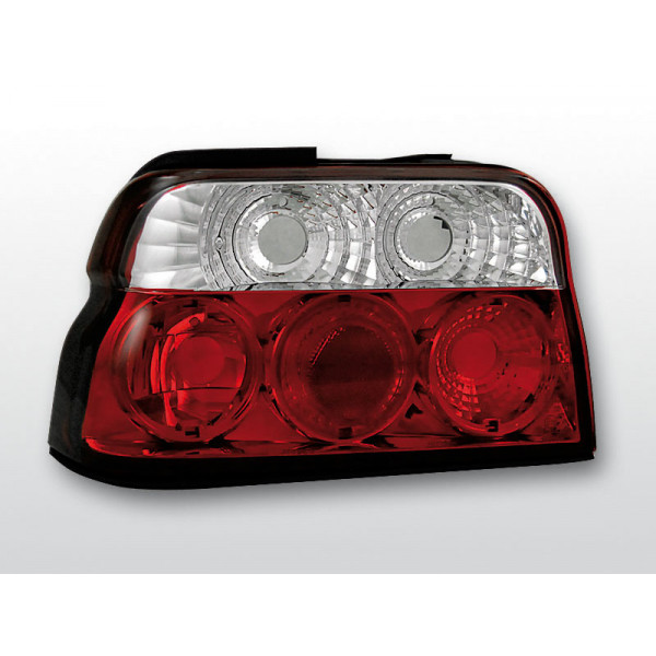 LAMPY FORD ESCORT CRYSTAL RED WHITE