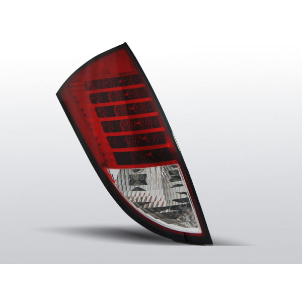 LAMPY FORD FOCUS LED RED WHITE HATCHBACK 98-04