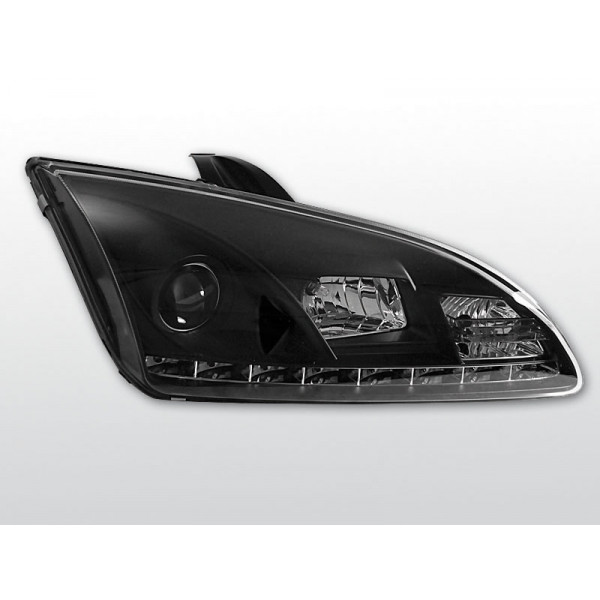 REFLEKTORY FORD FOCUS II DRL BLACK
