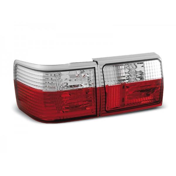 LAMPY AUDI 80 B3 SDN(B4 AVANT) KRYSTAL RED WHITE
