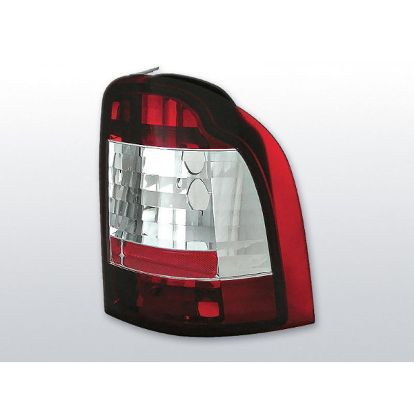 LAMPY FORD MONDEO CRYSTAL RED WHITE KOMBI