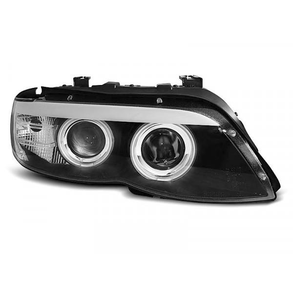 KPL REFLEKTORÓW BMW X5 E53 03-06 RING XENON BLACK