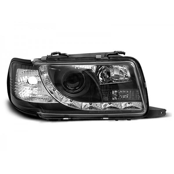 REFLEKTORY AUDI 80 B4 LED BLACK