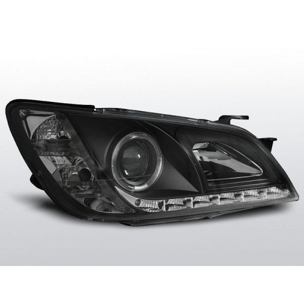 REFLEKTORY LEXUS IS 98-05 DRL BLACK
