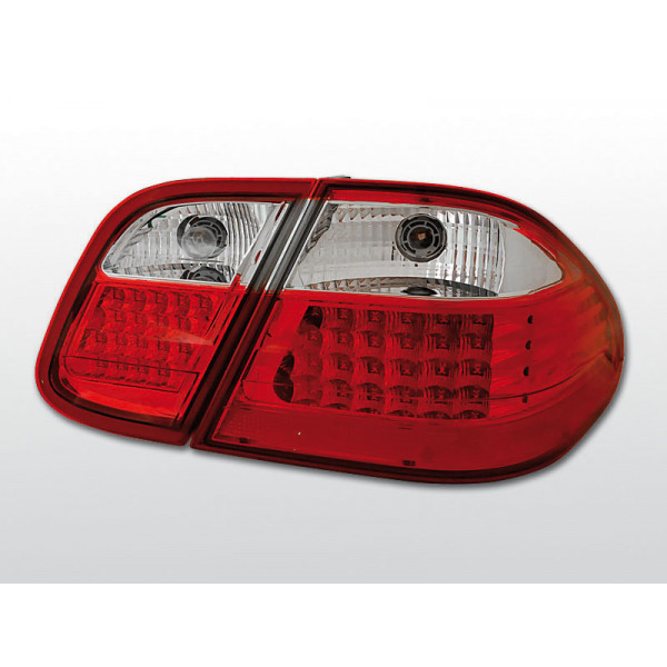 LAMPY MERCEDES CLK W208 LED RED WHITE