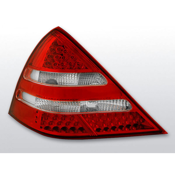 LAMPY MERCEDES SLK R170 LED RED WHITE