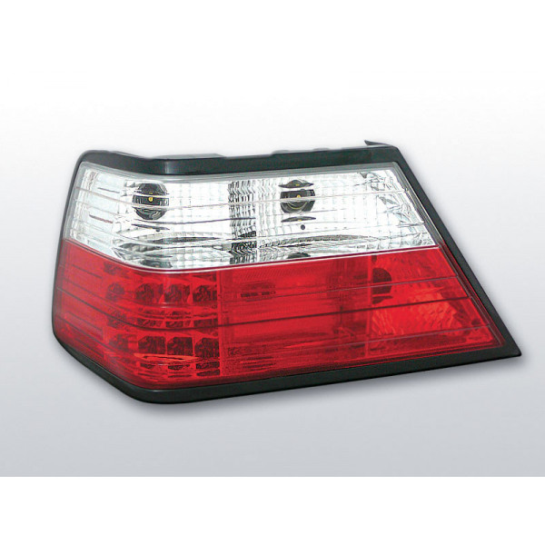 LAMPY MERCEDES W124 LED RED WHITE