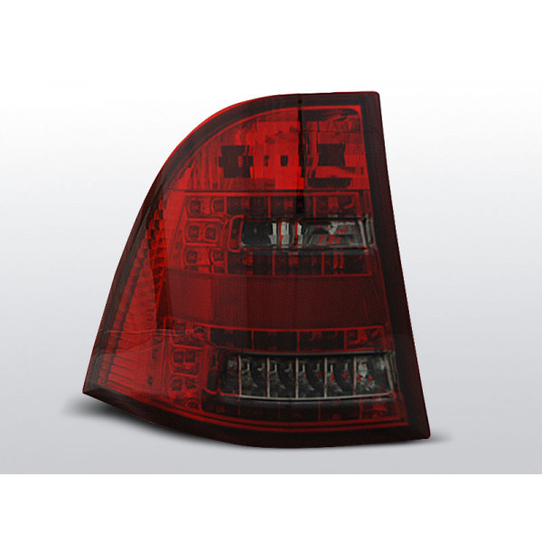 LAMPY MERCEDES ML W163 LED RED SMOKE