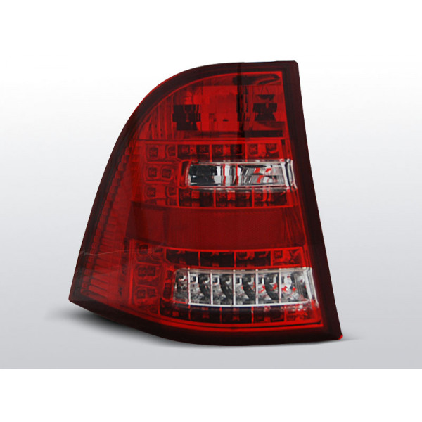 LAMPY MERCEDES ML W163 LED RED WHITE