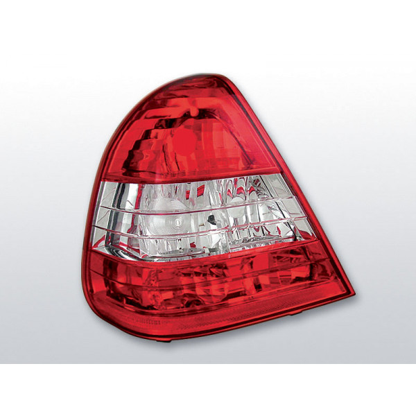 LAMPY MERCEDES W202 CRYSTAL RED