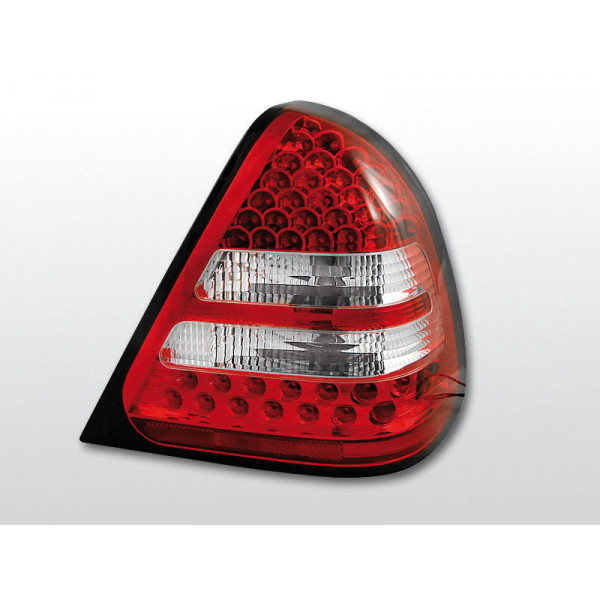 LAMPY MERCEDES W202 LED RED