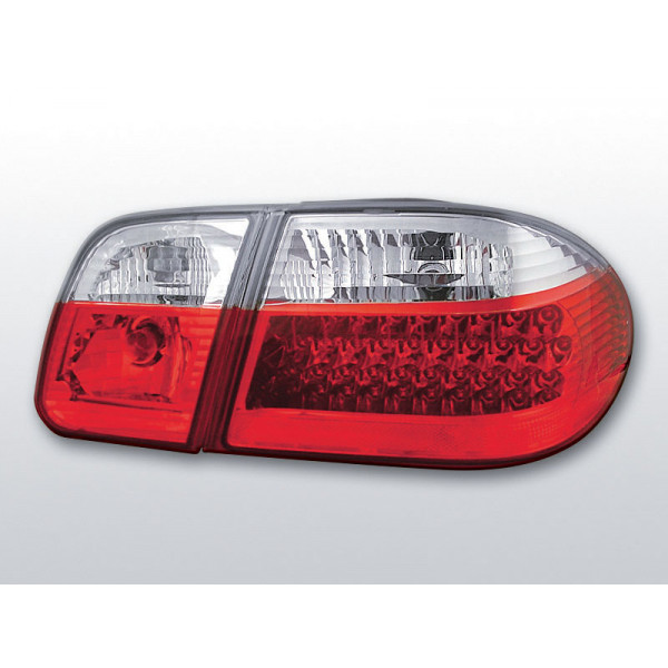 LAMPY MERCEDES W210 LED RED WHITE