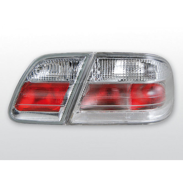 LAMPY MERCEDES W210 SEDAN CRYSTAL WHITE