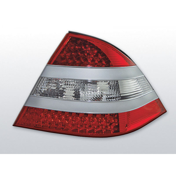LAMPY MERCEDES W220 LED RED WHITE