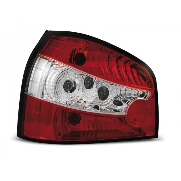 LAMPY AUDI A3 RED WHITE