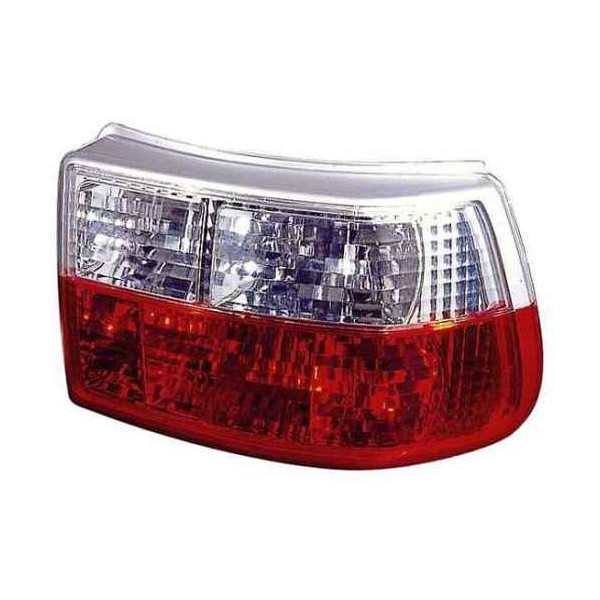 LAMPY OPEL ASTRA F CRYSTAL RED WHITE HB