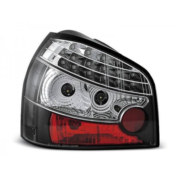 LAMPY AUDI A3 LED BLACK