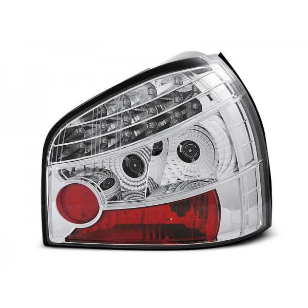 LAMPY AUDI A3 LED CHROM