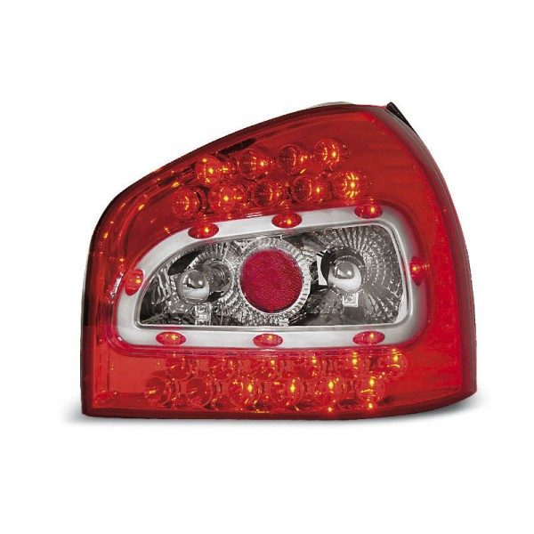 LAMPY AUDI A3 LED RED