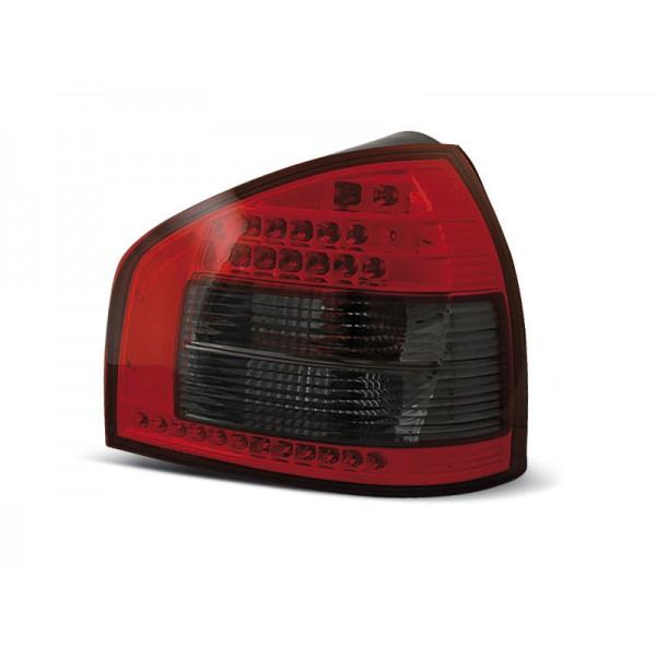 LAMPY AUDI A3 LED RED SMOKE