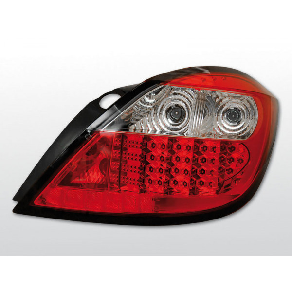 LAMPY OPEL ASTRA H LED RED 5D