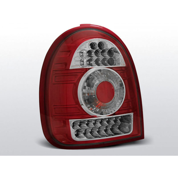 LAMPY OPEL CORSA B LED RED 3D