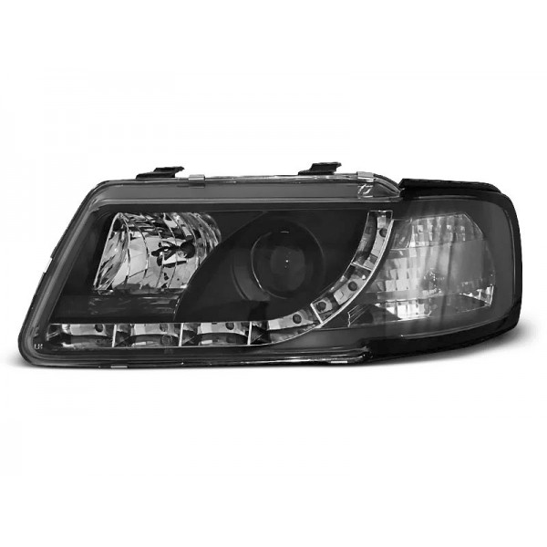 REFLEKTORY AUDI A3 LED BLACK