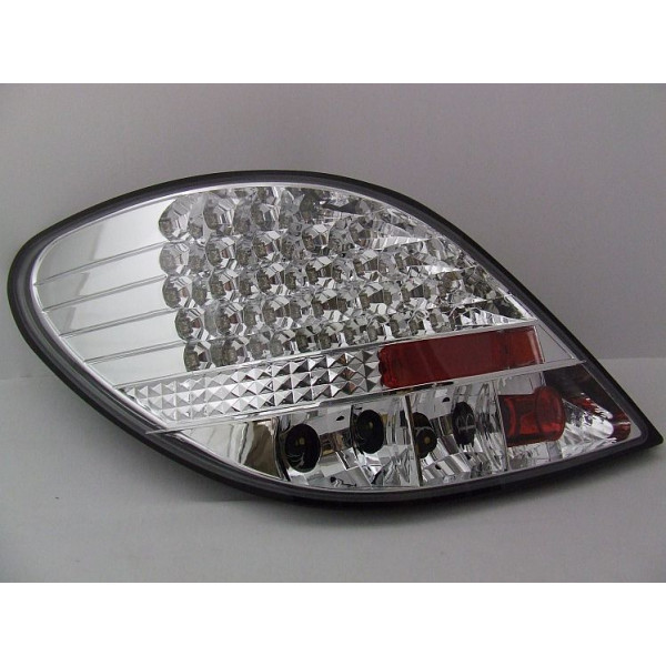 LAMPY PEUGEOT 207 LED CHROM