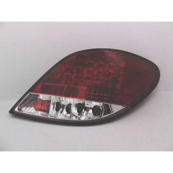 LAMPY PEUGEOT 207 LED RED