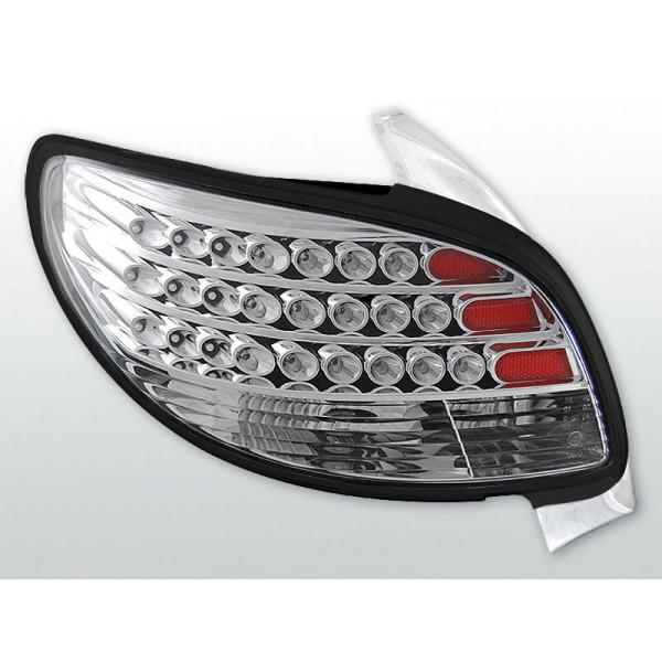 LAMPY PEUGEOT 206 LED CHROM