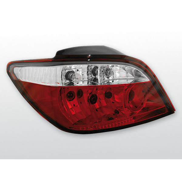 LAMPY PEUGEOT 307 CRYSTAL RED WHITE 01-07