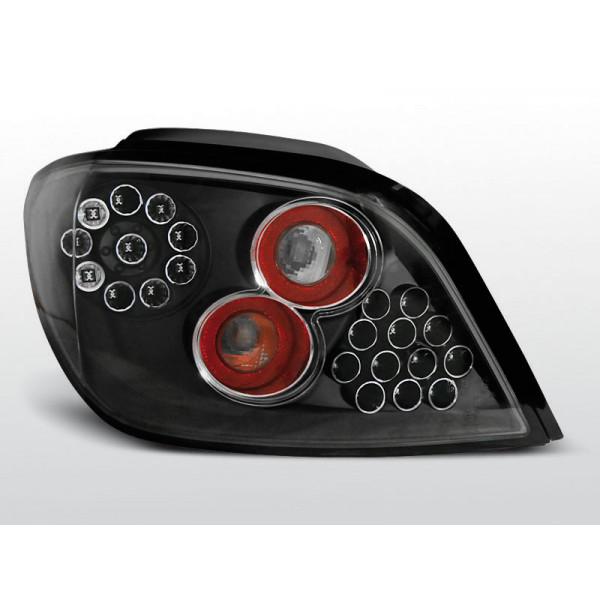 LAMPY PEUGEOT 307 LED BLACK 01-05