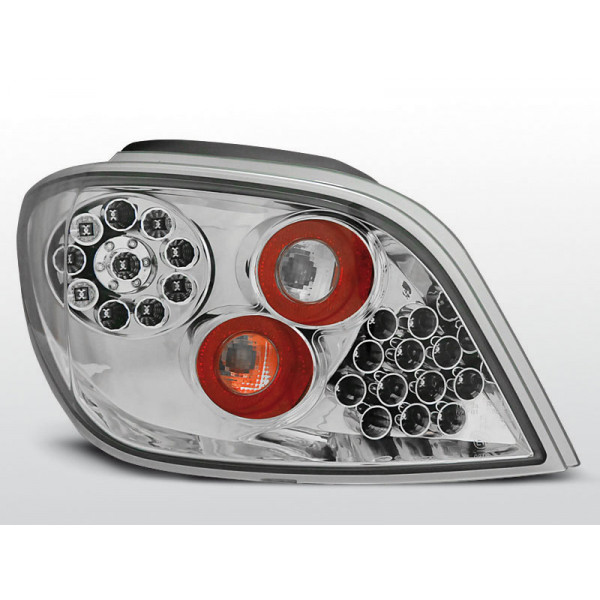 LAMPY PEUGEOT 307 LED CHROM 01-05