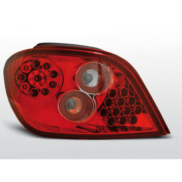 LAMPY PEUGEOT 307 LED RED 01-05