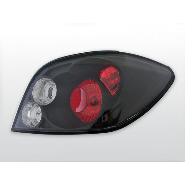 LAMPY PEUGEOT 307 LEXUS BLACK 01-