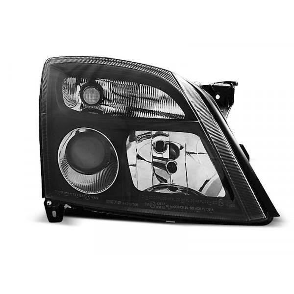 KPL LAMP REFLEKTORÓW OPEL VECTRA C NOWY LEWY+PRAWY CZARNY