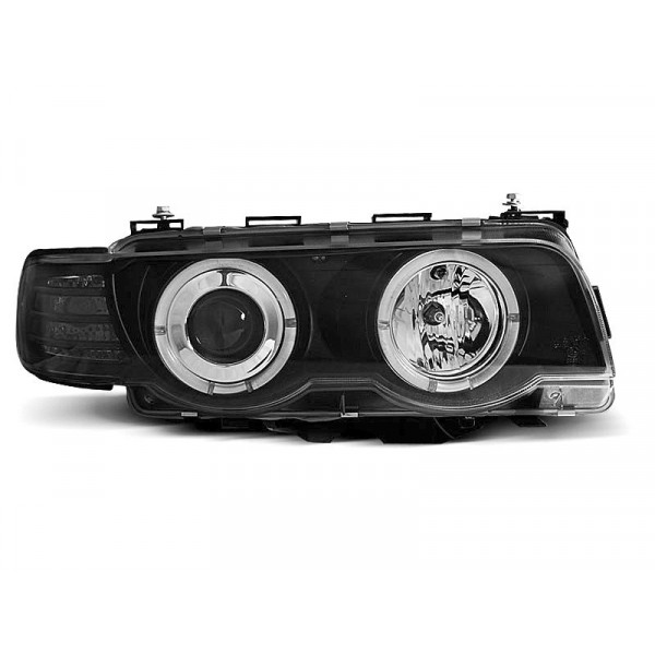 REFLEKTORY BMW E38 98-01 RINGI CHROME D2S/H1