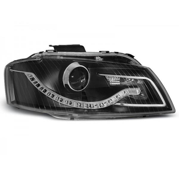 REFLEKTORY AUDI A3 DRL BI BLACK