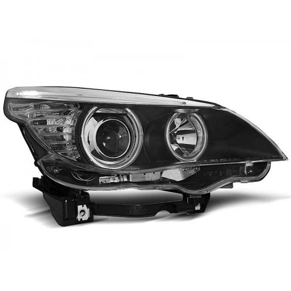 REFLEKTORY BMW E60 RINGI BLACK