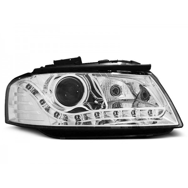 REFLEKTORY AUDI A3 DRL BI CHROM