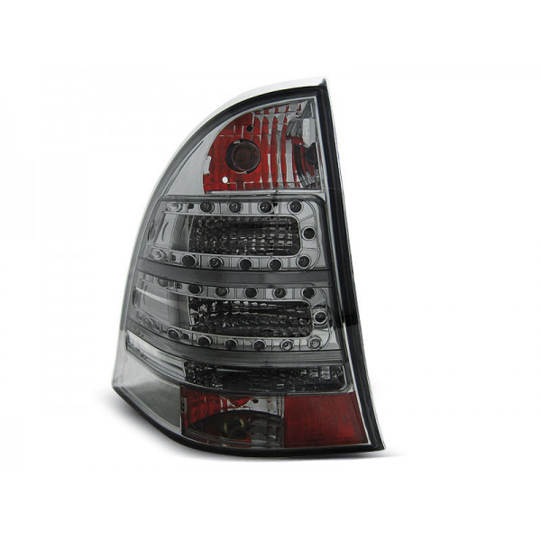 KPL LAMP MERCEDES W203 C-KLASA KOMBI LED RED SMOKE