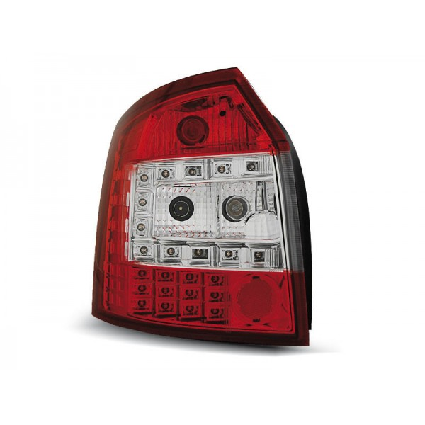 LAMPY AUDI A4 B6 AVANT LED RED WHITE