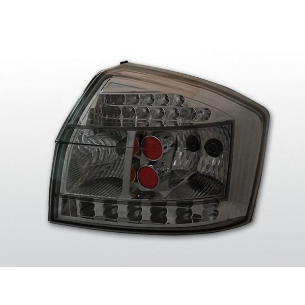 LAMPY AUDI A4 B6 LED SMOKE