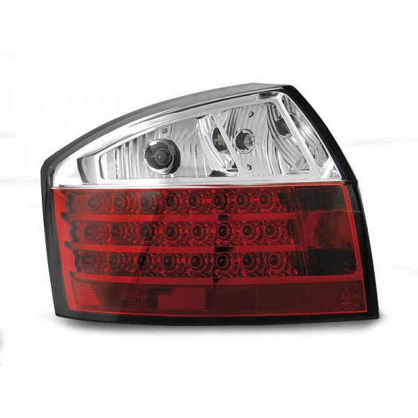LAMPY AUDI A4 B6 LED RED