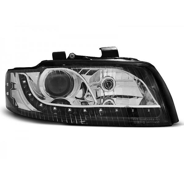 REFLEKTORY AUDI A4 B6 LED BI BLACK