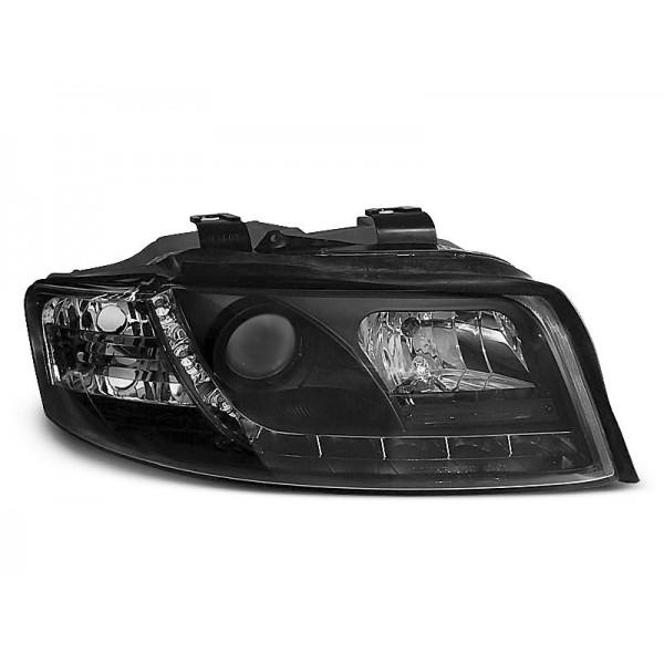 REFLEKTORY AUDI A4 B6 LED BLACK