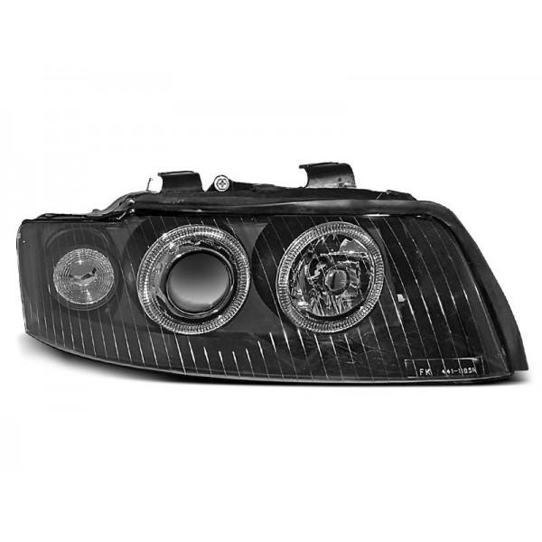 REFLEKTORY AUDI A4 B6 RINGI BLACK