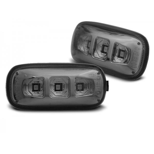 MIGACZE BOCZNE AUDI A4 B6 LED SMOKE
