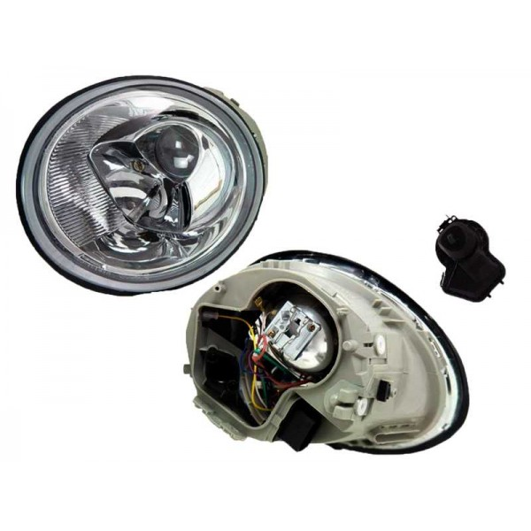 LAMPA REFLEKTOR VW NEW BEETLE 1998-05 NOWY L/P