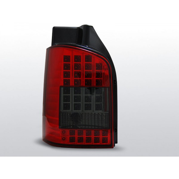 LAMPY VW T5 LED RED SMOKE